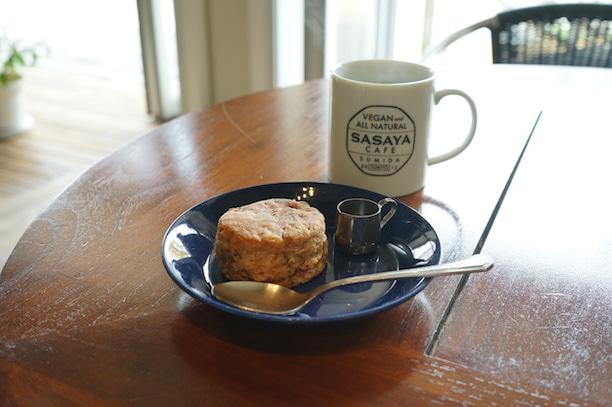 錦糸町 sasaya cafe スコーン
