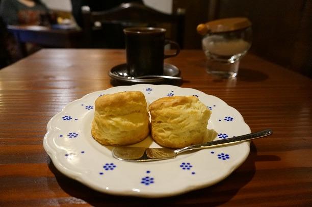 国立 old cafe ときの木 スコーン