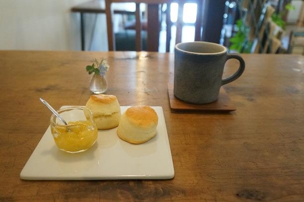 桐生 こととい喫茶店 スコーン