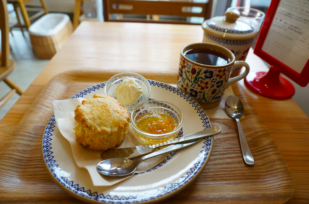 上板橋 小さな紅茶屋crann スコーン