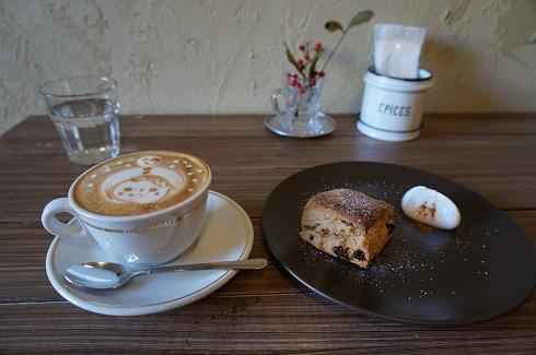 検見川 acona coffee スコーン