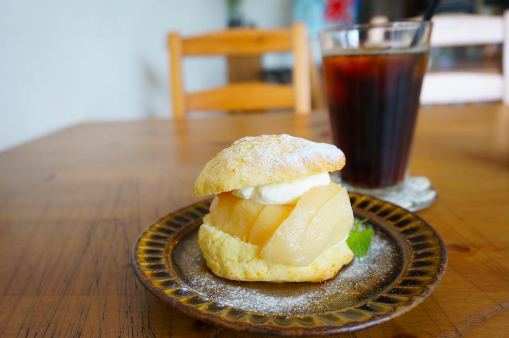 八千代 大和田カフェ espresso&music スコーン