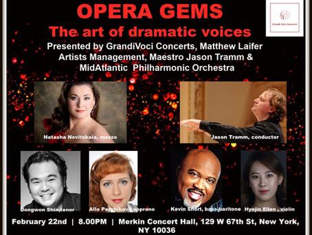 GrandiVociConcerts, Matthew Laifer Artists Management, Midatlantic Symphony Orchestra will present