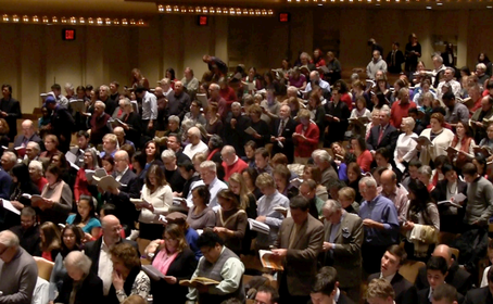 52nd annual Handel's Messiah Sing-In at Lincoln Center - a celebration of choral singing!