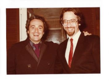 Matthew Laifer With Jose Carreras
