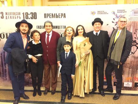 Congrats to Anastassiya Kozhukharova singing Norina in Almaty! Brava