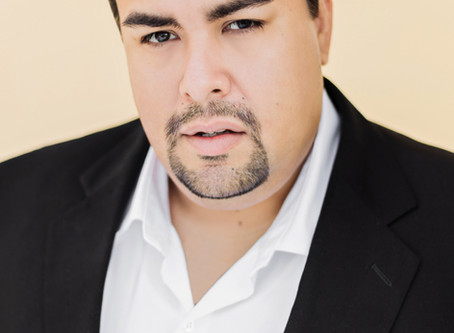 We welcome Ray Gonzalez,tenor  to our roster