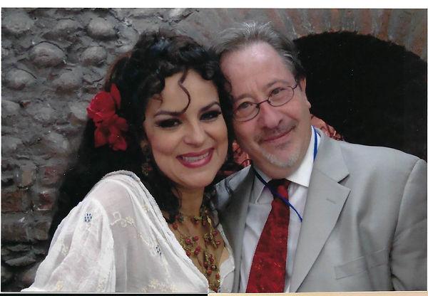 Matthew Laifer with Nanc Herrera in Verona2009