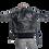 Thumbnail: MAXWELL-Black Double Zipper Moto Sheepskin Leather Jacket with Belt