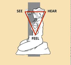 DRAWING of STEPH MEDITATION