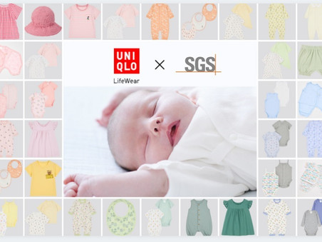Uniqlo, SGS Launch Independent Checked Mark for Infants' Apparel