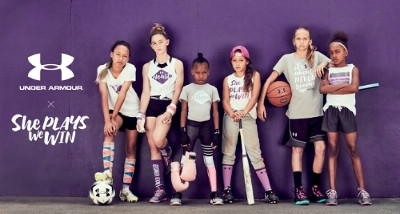 """Under Armour Announces Partnership With """"She Plays We Win"""" Initiative To Promote Young Gir"""