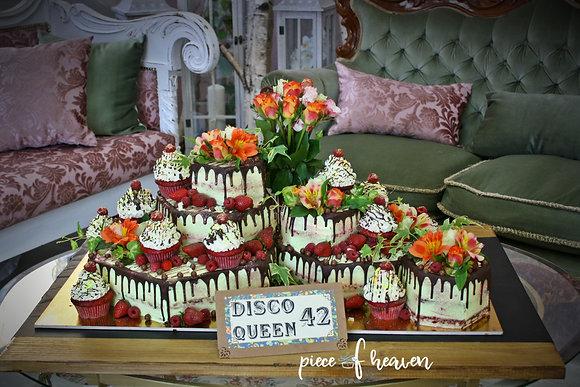 Празнична торта на нива