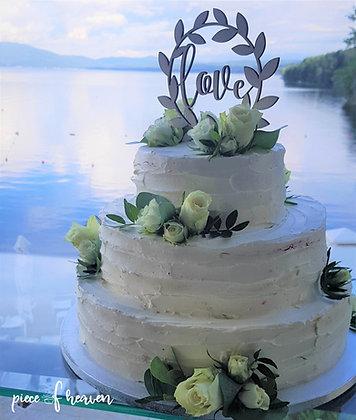 Сватбена рафаело торта