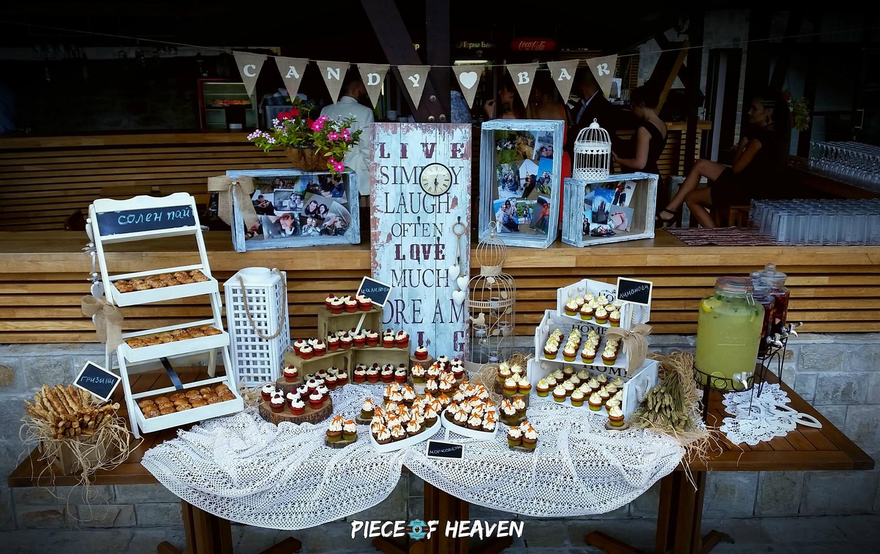 Сватбен сладък бар - в Парк Хотел Асеневци, Велико Търново