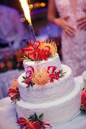 """Сватбена торта """"RAFFAELLO"""""""