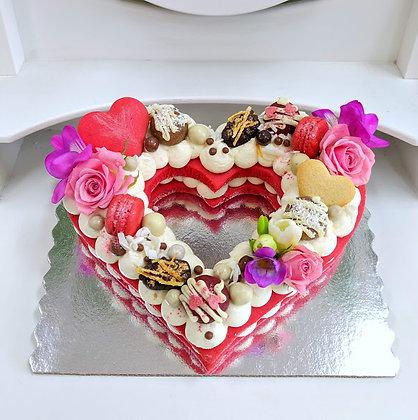 Бисквитени торти сърце - големи_1