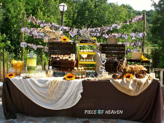 Сватбен сладък бар - в комплекс Кабеите, обл. Благоевград