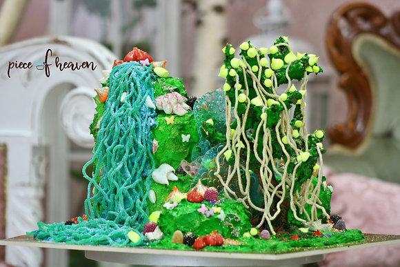 """Детска торта """"Градината на Аватар"""""""