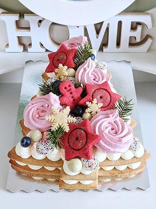 Бисквитени рождествени торти