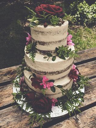 Сватбена малка тортичка