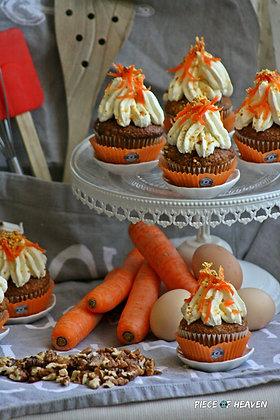 Морковени къпкейкове
