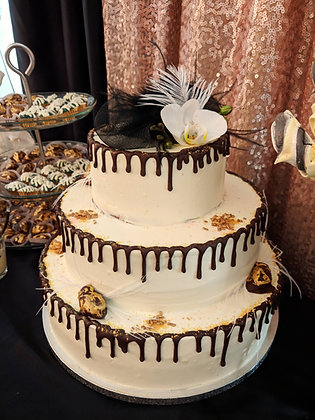 Сватбена gastby торта