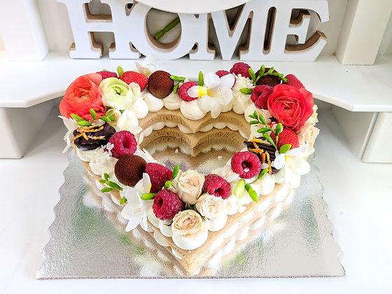 Бисквитени торти сърце - големи_2
