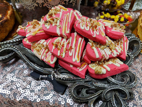 Малинови бисквити
