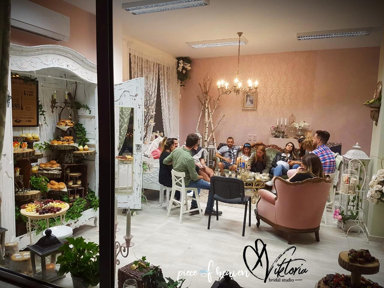 Парти във Viktoria Bridal Studio