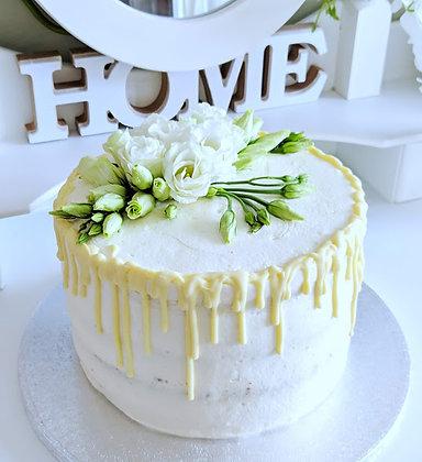 Ванилова торта с бял шоколад