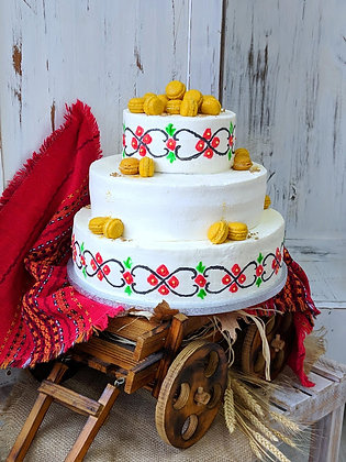 Торта с шевици