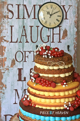 Сватбена гола торта