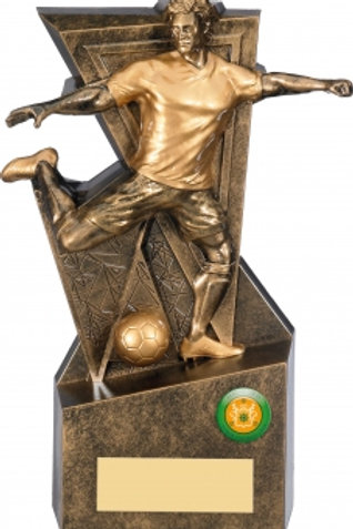"10"" GOLD LEGACY FOOTBALL TROPHY"