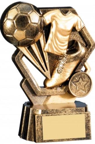 "6"" GOLD THUNDER FOOTBALL AWARD"