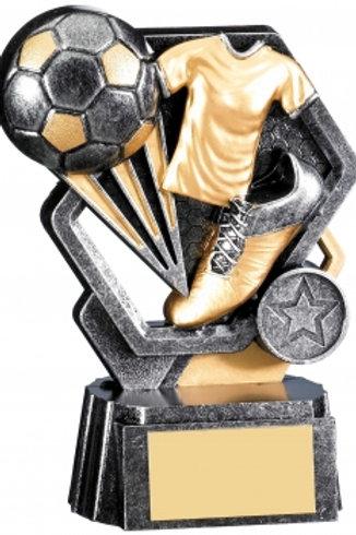 "6"" SILVER THUNDER FOOTBALL AWARD"