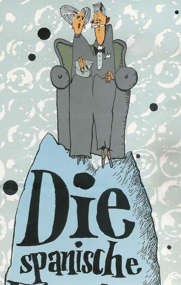 DIE SPANISCHE FLIEGE -Regie