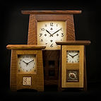 Craftsman Clock, Mission Clock, Arts and Crafts Clock