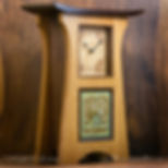 Craftsman Clock, Mission Clock, Arts and Crafts Clock
