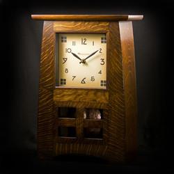 Craftsman Style / Mission / Arts & Crafts Mantel Clock