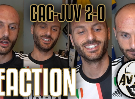 Ronaldo sta ancora tirando... Cagliari-Juventus 2-0 live reaction     Avsim Live