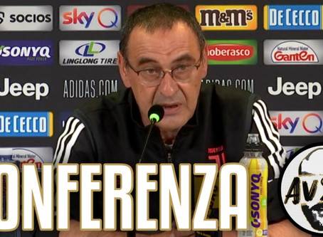"Sarri pre Juventus-Atalanta: ""Pensiamo solo al campionato"""