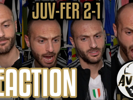 Juventus-Ferencvaros 2-1 live reaction ||| Avsim Live