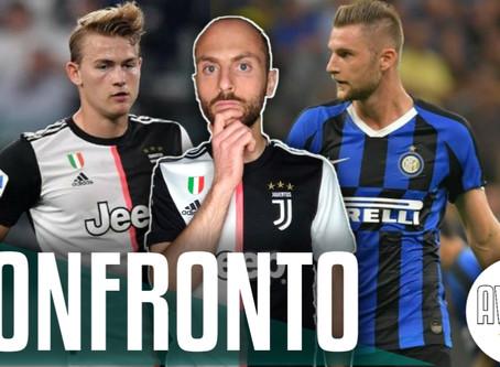 Chi è più forte tra de Ligt e Skriniar?     Avsim Tattica pre Inter-Juventus
