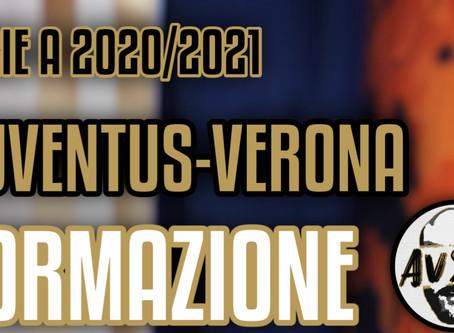 Sondaggio formazione Juventus-Verona Serie A     Avsim Dibattito