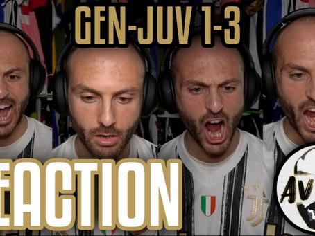 Genoa-Juventus 1-3 live reaction ||| Avsim Live
