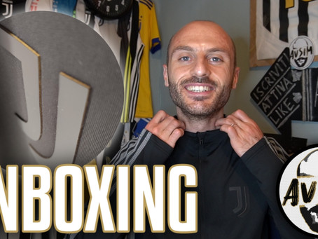 Unboxing Juventus Anthem Jacket 2020/2021 e asta benefica ||| Avsim Unboxing