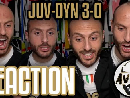 Juventus-Dinamo Kiev 3-0 live reaction ||| Avsim Live
