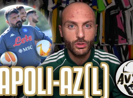 Napoli-AZ si gioca? Il silenzio dell'ASL e l'incoerenza col caso Juve ||| Speciale Avsim