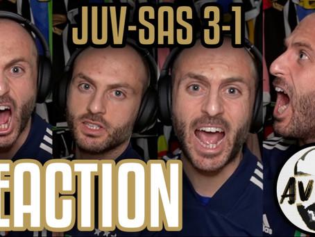 Juventus-Sassuolo 3-1 live reaction ||| Avsim Live